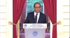 Le 20 heures du 18 septembre 2014 : Conf�nce de Hollande : un rendez-vous attendu sur le fond et la forme - 1406.384300598145