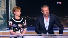 """Le 20 heures du 31 mars 2015 : """"Suite française"""" : Kristin Scott Thomas et Lambert Wilson, invités du 20h de TF1 - 1954.7415966796875"""