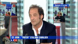 """Vincent Lindon : """"Dans Pater je me suis vraiment cru 1e ministre."""""""