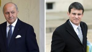 Laurent Fabius Manuel Valls