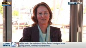 Ségolène Royal sur BFMTV, le 12 juin 2012.