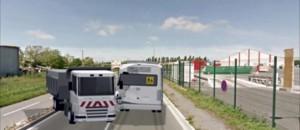 Accident à Rochefort : un problème technique à l'origine de l'ouverture de la ridelle