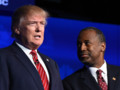 Donald Trump Ben Carson USA républicains