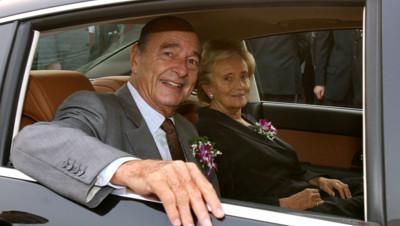 Jacques et Bernadette Chirac en Chine, en 2006.