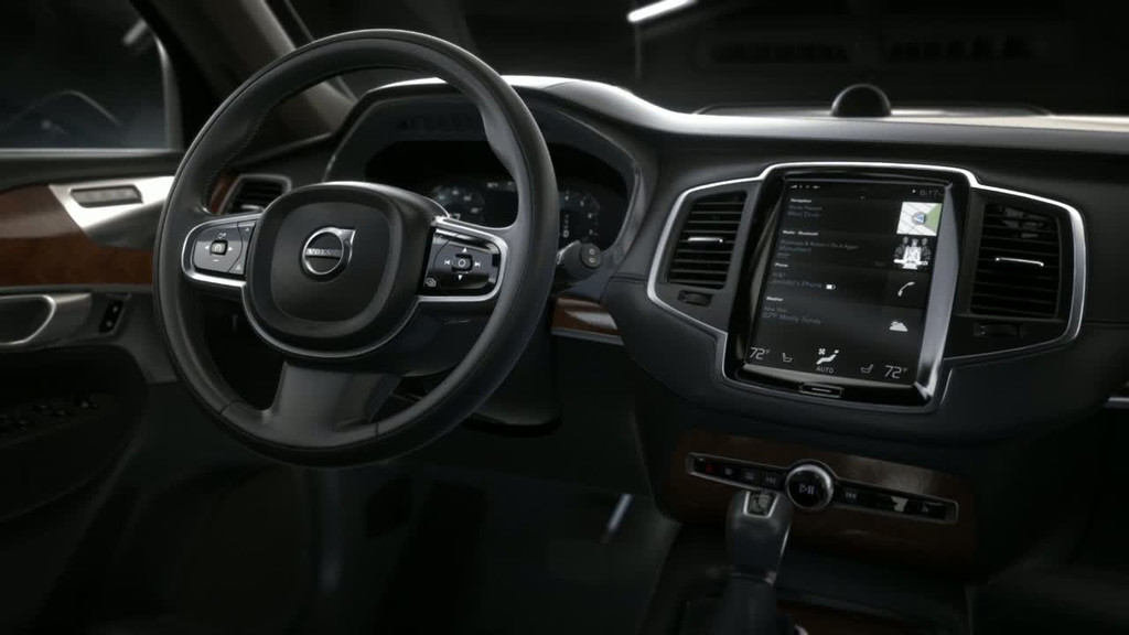 Vid o automoto volvo xc90 2014 pr sentation officielle for Interieur xc90