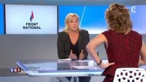 """Et si le FN changeait de nom ? """"Il n'y a pas de tabou dans ce domaine"""" assure Marine Le Pen"""