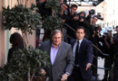 Grard Depardieu en DSK sur le tournage du film Welcome To New York d&amp;#039;Abel Ferrara