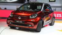 Les Smart Fortwo et Forfour au Mondial de l'Automobile 2014