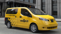 New York Taxi Nissan NV200 2013
