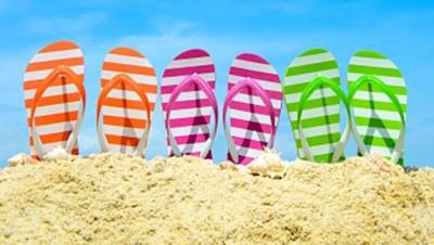 tongs-vacances soleil météo plage fariente sandales