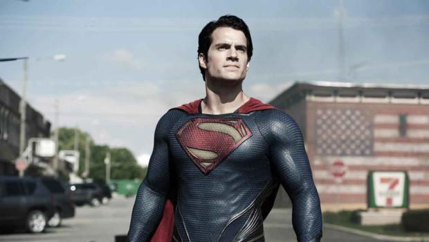 Henry Cavill est Superman dans le film Man of Steel