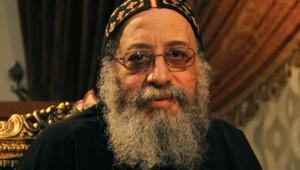 L'évêque Tawadros, nouveau patriarche de l'Eglise copte d'Egypte, le 17 octobre 2012 au Caire