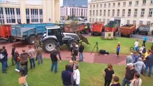 Manifestation d'agriculteurs à Caen : au moins 200.000 euros de dégâts