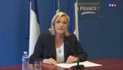 """Marine Le Pen : """"Le référendum, une nécessité démocratique"""""""
