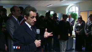 """Nicolas Sarkozy : """"soyez fiers d'être fonctionnaires"""""""