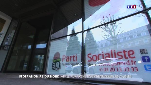 Pour ne pas s'effondrer, la fédération socialiste du Nord en appelle aux dons