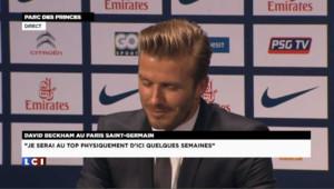 Quand David Beckham parle de Zlatan Ibrahimovic...