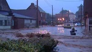 TF1/LCI : Coulée de boue près de Valenciennes (8 juin 2007)