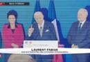Fabius ironise sur ces Premiers ministres qui passent au Quai d'Orsay