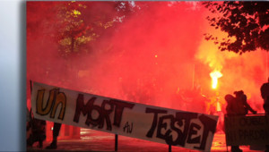 Le 20 heures du 26 octobre 2014 : Barrage de Sivens : les tensions entre manifestants et policiers se durcissent - 90.11799102783205