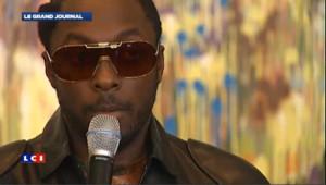 Le chanteur des Black Eyed Peas se produit sur Mars