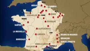 Livre Blanc : la listes des sites militaires concernés par la réforme des armées
