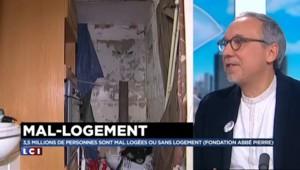 """Mal-logement : """"Il y a eu un certain nombre de reniements"""" du gouvernement"""