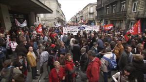 Manifestation contre la réforme des retraites (28/10/2010)
