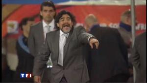 Maradona se dit prêt à étudier une éventuelle proposition de Montpellier.