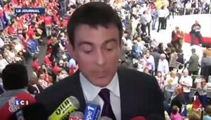 """Valls : en Europe, """"il faut changer"""" le bilan """"conservateur"""" de Sarkozy"""