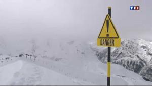 """Le risque d'avalanche est """"très fort"""" en raison du redoux."""