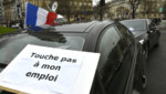 Manifestation des VTC à Paris, 5/2/16