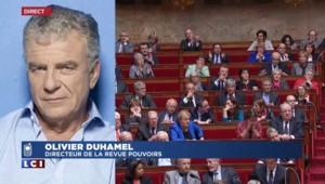 """Pour Olivier Duhamel, """"la motion de censure [de l'UMP] n'a aucune chance d'être adoptée"""""""