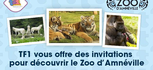 Tentez de gagner votre invitation pour le Zoo D'Amnéville