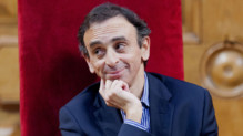 Eric Zemmour, journaliste français, écrivain, à Nice le 13 mars 2012