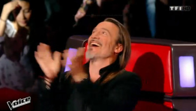 florent pagny the voice audition à l'aveugle