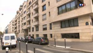 L'immeuble rue de Cauchy, dans le XVe arrondissement de Paris, où vit François Hollande.