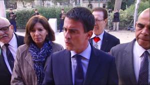 """Le 13 heures du 25 septembre 2014 : Valls : """"La France ne c�ra jamais, ne se laissera jamais intimider"""" - 793.091"""