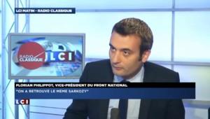 """Philippot sur Sarkozy : """"On a vu une sorte de navet sans intérêt"""""""