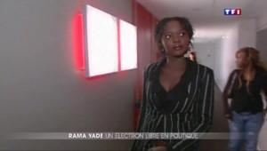 Rama Yade : sans parti et sans mandat mais avec du tempérament
