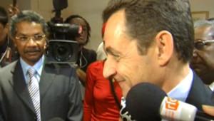 TF1/LCI : L'arrivée, jeudi 15 février, de Nicolas Sarkozy à La Réunion pour une visite de deux jours