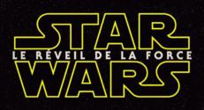 Logo du film Star Wars : le réveil de la force