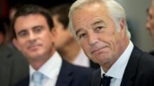 Manuel Valls et François Rebsamen