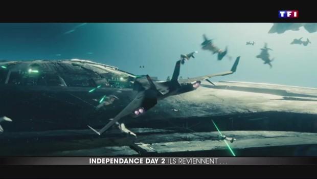 """""""Independence Day : résurgence"""" signe le retour des extraterrestres"""