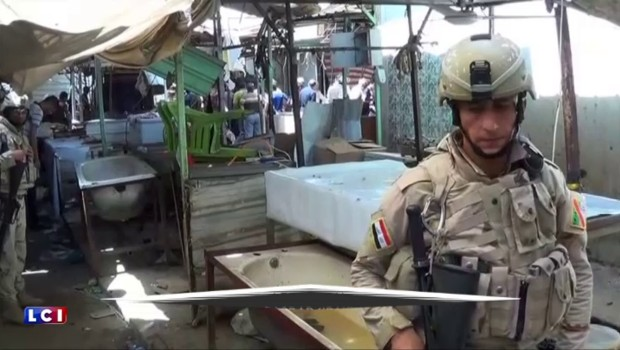Irak : au moins quarante morts et 90 blessés dans une série d'attentats à Bagdad