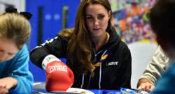 Kate Middleton rencontre des scouts