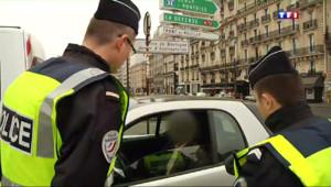 Le 20 heures du 17 mars 2014 : Circulation altern�: les contr� de police ont � efficaces - 268.716