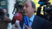 """Michel Platini devant le TAS : """"Je suis optimiste, je pense être réhabilité dans mes droits"""""""