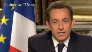 Nicolas Sarkozy voeux Elysée