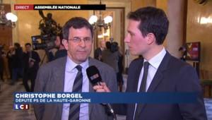 """Usage du 49-3 sur la loi Macron : """"La majorité était trop courte pour prendre un risque"""" réagit Borgel"""